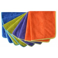 All-purpose Microfiber Cleaning Cloths Wiping Dusting Rags 12Inchx12Inch