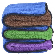 Microfiber Car Cleaning Towels Super Absorb Drying Auto Detailing Towel  16 Inchx16 Inch, 16Inchx24 Inch
