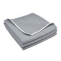 Microfiber Waffle Weave Kitchen Towels Dish Cloth 16 Inchx24 Inch 3 Pack