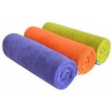 Sinland Multi-purpose Microfiber Fast Drying Travel Gym Towels 3 Pack 16 Inch X 32 Inch