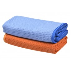 Waffle Weave Towel Microfiber Car Cleaning Cloths Car Detailing Drying Towels 16Inchx27Inch