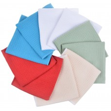 Microfiber Waffle Weave Kitchen Towels Dish Drying Towels 16 Inchx16 Inch 10 Pack