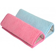Microfiber Cloth Home & Kitchen Stainless Steel Scrubber Cleaning Pads 8.9 Inchx6.3 Inch
