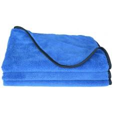 Microfiber Car Cleaning Cloths Plush Thick Car Waxing Polishing Towels Car Wash Cloths (16Inchx24Inch,3Packs)