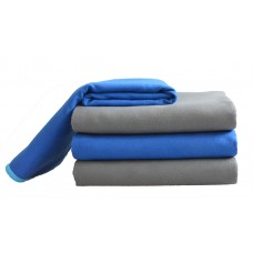 New Microfiber Sports Towel Fast Drying Super Absorbent Gym Fitness Camping  Compact Towel w/bag